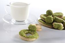 Free Milk And Cookies Stock Photos - 17695053
