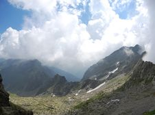 Free Carpathian Mountains - Mountain Panorama Stock Images - 17695224