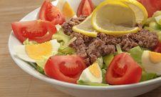 Free Fresh Salad Royalty Free Stock Photography - 17696117