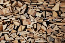 Free Stacked Log Stock Images - 17696174
