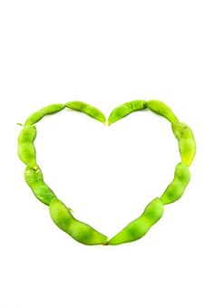 Free Soybean Heart Royalty Free Stock Image - 17696916