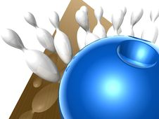 Bowling Royalty Free Stock Images