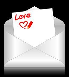 Free Celebratory Envelopes Royalty Free Stock Photo - 17697885