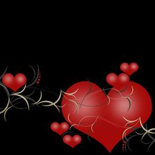 Free Valentines Background Royalty Free Stock Photography - 17698157