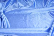 Free Blue Silk Textile Royalty Free Stock Photo - 17698325