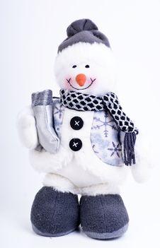 Free Snowman Stock Photo - 17698490