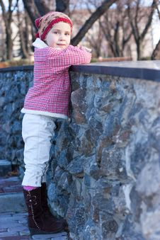 Free Beautiful Baby Looking Into The Distance Stock Photo - 17699220
