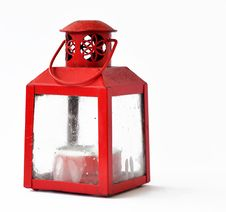 Free Red Candle Lantern Stock Image - 17699511