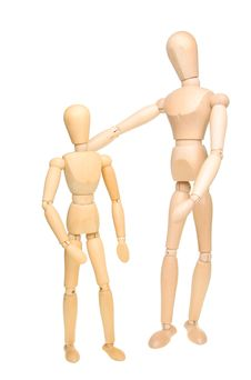 Free Large And Small Manikins Royalty Free Stock Image - 17699716