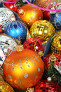 Free New Year S Ornaments Of Different Color Royalty Free Stock Photos - 1778148