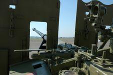 Free Anti-aircraft Gun. Stock Images - 1771674
