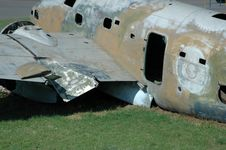 Free Crashed Aircraft. Royalty Free Stock Image - 1771716