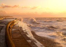 Free Sea-wall Stock Image - 1772251