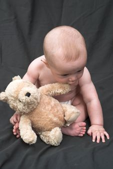 Free Bear Baby Royalty Free Stock Photos - 1772468