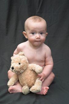 Free Bear Baby Royalty Free Stock Photo - 1772475