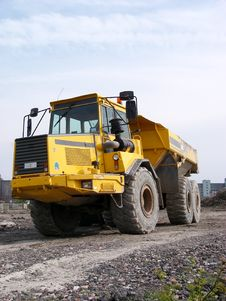 Free Dump Truck Royalty Free Stock Photo - 1772725