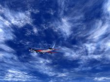 Free Plane Flying 27 Royalty Free Stock Photo - 1773265