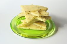Free Sliced Cheese Stac Royalty Free Stock Photography - 1774067