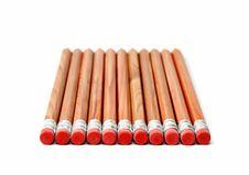 Free Wooden Crayons Stock Photos - 1774213