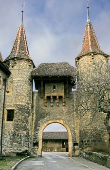 Free Swiss Castle 14 Stock Photography - 1774902