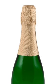 Bottle Of A Champagne Royalty Free Stock Photography
