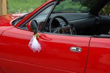 Free Red Wedding Car Royalty Free Stock Photos - 1775908