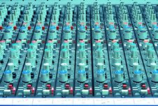 Free Sound Mixing Console Royalty Free Stock Images - 1776059