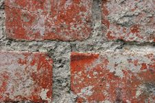 Old Red Bricks Royalty Free Stock Photography