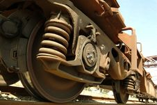Free Details Of Wagon Of A Freight Train Stock Photography - 1776632