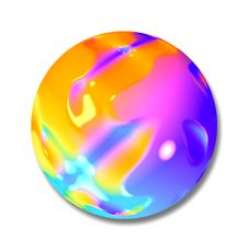 Free Planet Button Ball Marble Royalty Free Stock Photography - 1777737