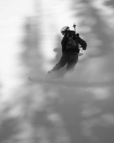 Free Backcountry Snow Boarder Stock Images - 1777904
