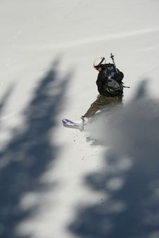 Free Snow Boarder 7 In Action Royalty Free Stock Photography - 1777907