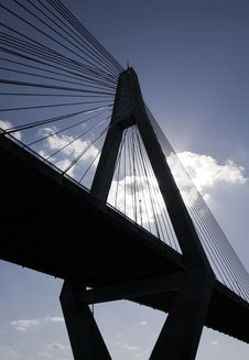 Free Anzac Bridge Royalty Free Stock Photos - 1778808