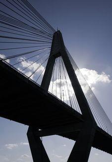 Anzac Bridge Royalty Free Stock Photos