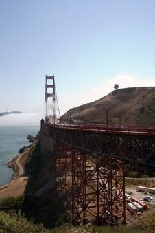 Free Golden Gate Bridge Stock Photography - 1779172