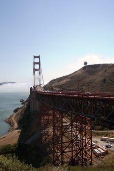 Free Golden Gate Bridge Stock Photography - 1779172