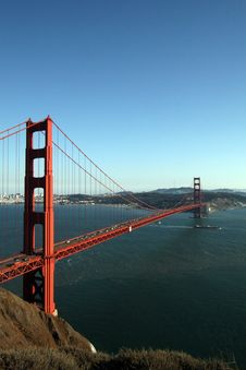 Free Golden Gate Bridge Royalty Free Stock Photography - 1779207