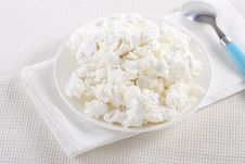 Free Cottage Cheese Royalty Free Stock Photography - 17700017