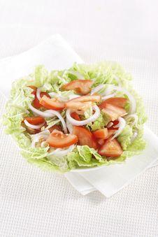 Free Fresh Vegetable Salad Royalty Free Stock Image - 17700116