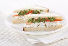 Free Vegetarian Sandwiches Stock Photos - 17700133