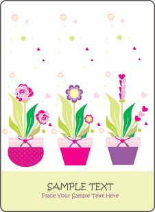 Free Flower Card Stock Images - 17700174
