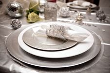 Free Festive Table Royalty Free Stock Photography - 17701337