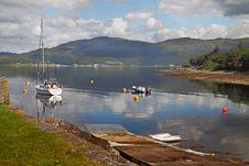 Free A Slipway On Loch Linnhe Stock Photos - 17701503