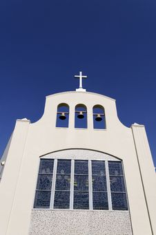 Free Church Reaching To The Sky Royalty Free Stock Photography - 17701657