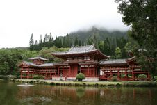 Free Byodo-In Temple Royalty Free Stock Image - 17702386