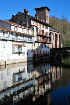 Free Saint-Jean-Pied-de-Port Village Royalty Free Stock Photos - 17702638