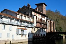 Free Saint-Jean-Pied-de-Port Village In Basque Province Royalty Free Stock Photo - 17702825