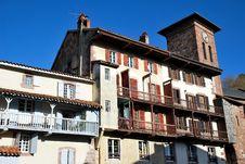 Free The Houses Saint-Jean-Pied-de-Port Village Royalty Free Stock Image - 17702966