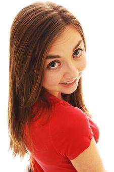 Portrait Of Girl. Stock Photos