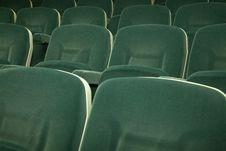 Free Empty Green Seats Stock Photography - 17703392
